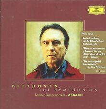 Claudio Abbado Beethoven The Symphonies Berlin Philharmonic box CD NEW