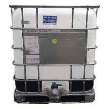 275 gallon IBC Tote Non Food Grade Storage Emergency Hydro Aquaponics - Used