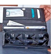 Exact Change Purse Wallet Have Change seperated and right there when you need it