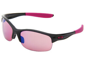 Oakley Commit SQ YSC Breast Cancer Awareness Sunglasses 24-330 Black/G30 Iridium