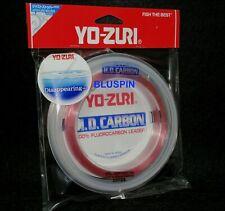 YOZURI HD CARBON 100%FLUOROCARBON LEADER 100lb 30YDS DIA 0.953mm COL. PINK JAPAN