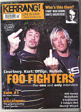 KERRANG #897 FOO FIGHTERS:WILL HAVEN:NICKELBACK:3 COLOURS RED:SUM 41