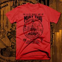 Muay Thai T-Shirt Thailand Kickboxing MMA UFC Thai Boxer Martial Arts Fight Club