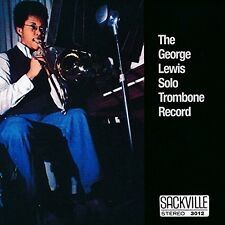 George Lewis - Solo Trombone [New CD]