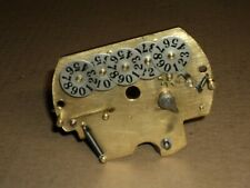 Indian - Harley-  Corbin speedometer number plate 1938-47