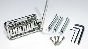SuperVee Bladerunner Righty 6 screw mount Tremolo Bridge Nickel