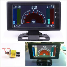 "5""LCD Digital 6in1 Multifunction Gauge Car Tachometer/Water Temp/Clock/RPM Meter"