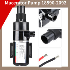 12V Self Priming Macerator Waste Pump Waste Evacuation for Marine Yacht Boat