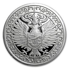 2~OZ ~ .999 SILVER ~ DESTINY KNIGHT ~ THE  RAVEN ~ MAGNIFICENT DETAIL ~ $77.88