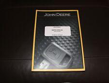JOHN DEERE 120C EXCAVATOR PARTS CATALOG MANUAL PC2899