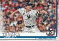 Masahiro Tanaka 2019 Topps Update All-Star Game US9 New York Yankees