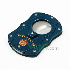 PUNCH COLIBRI DOUBLE BLADE STAINLESS STEEL ERGONOMIC SURE-CUT CIGAR CUTTER