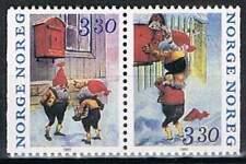 Noorwegen postfris 1992 MNH 1112-1113 - Kerstmis / Christmas