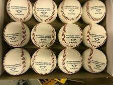 FULL CONTAINER 3500 DOZEN ALL LEATHER CUSTOM PRACTICE BASEBALLS FLAT or MID SEAM