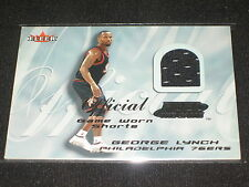 GEORGE LYNCH 76ERS CERTIFIED GENUINE AUTHENTIC BASKETBALL JERSEY CARD RARE
