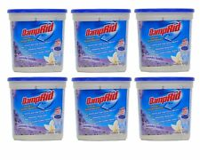 DampRid Moisture Absorber Lavender Vanilla Scent Odor Mold Mildew Stains 6 Pack