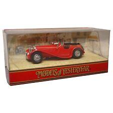 Matchbox Models of Yesteryear Y1 1936 Jaguar Ss100 - Nr MINT Vintage 1 38