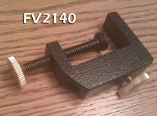 """C Clamp Base for Fly Tying Vise, Fits on 3/8"""" Shaft -  FV2140 - Heavy Duty"""