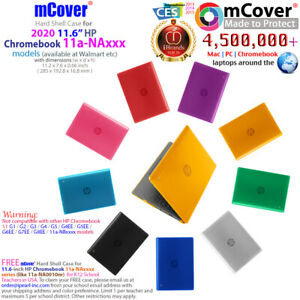 """NEW CLEAR mCover® HARD Shell CASE for 2020 11.6"""" HP Chromebook 11a-NAxxxx series"""