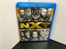 NXT's Greatest Matches Vol 1 Blu Ray WWE AEW PWG ELITE ECW MLW ROH