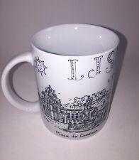 LISBOA Coffee Mug Cup Illustrations Of The Landmarks Of Lisboa By Nuvem Carmim