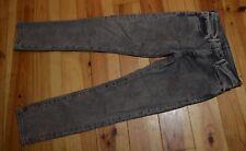 💡 Levis 511 grigio slim skinny jeans da uomo in buonissima condizione UK Taglia W31 L32