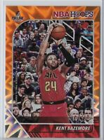 2019-20 NBA Hoops Kent Bazemore Orange Explosion SSP /25 No. 4