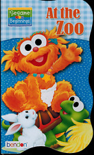 Board Book - Sesame Street - NEW - At the Zoo -