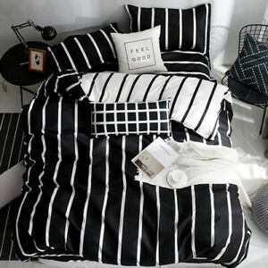 2021 Color Stripe Bed Cover Double/Full/Queen/King/Super King Bedding