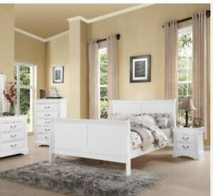 Acme Furniture Louis Philippe III Queen Bed In White