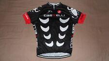 Castelli Rosso Corsa Tech Labs Black Cycling Jersey Men's Size XXL