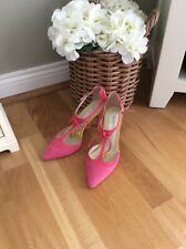 Boden Alice Pink Suede Shoes 37 1/2