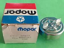 NOS Mopar Gas Fill Cap. # 4002757. 1972-1978 Chrysler/Dodge/Plymouth Cars.