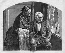 METEOROLOGIE*LAUBFROSCH ALS WETTERPROPHET*1885*