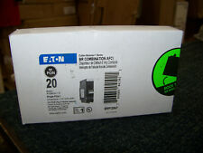 Eaton Cutler Hammer Br Combination Afci 20 Amp Single Pole Brp120af New