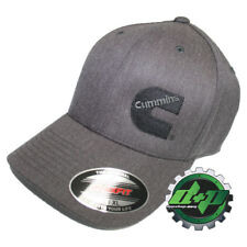 Cummins hat ball cap fitted flex fit flexfit stretch ram gray denim lg xl 46fe1b69fd37