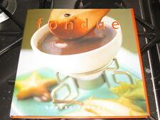 Cook Book Fondue The Essential Kitchen Robert Carmack