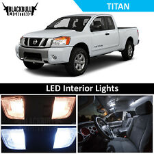 White LED Interior + Reverse Accessories Package Kit fits 2004-2015 Titan
