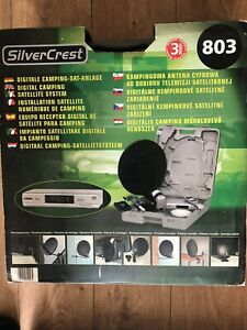Digital Camping Satellite System SL 65/12 Motorhome Caravan **NEW** Silvercrest