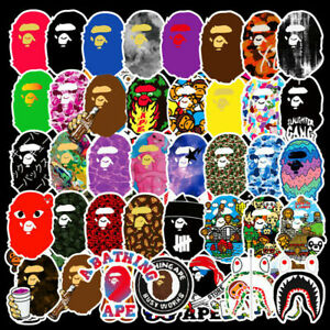 50Pc Stickers Bomb Vinyl Skateboard Guitar Luggage Pack Hypebeast Decal Lot Cool