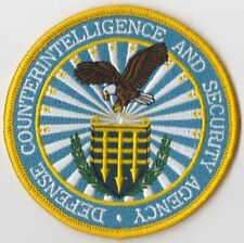 """Defense Counterintelligence And Security Agency - Great 3.5"""" Patch Dcsa"""