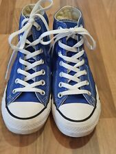 Blue Converse All Star High Top Trainers - Size 4.5/37 - Excellent Condition