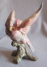 "Parrot Cockatoo Candlestick Fitz & Floyd Jungle Coll. 8"" Facing Left REPAIRED"