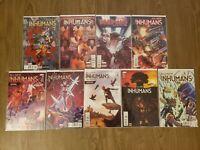 All New Inhumans Set #1-8 and 10 (Marvel), NM & Inhumanity Set NM