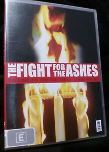 The fight for the Ashes Cricket DVD howzat free post