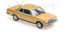Mercedes Benz (W123) 230Ce Gold Metallic 1976 MINICHAMPS 1:43 940032220