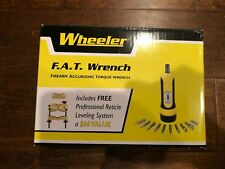 Wheeler Fat F.A.T. Torque Wrench Plus Professional Reticle Leveling System