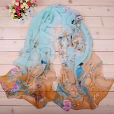 Womens Long Soft Wrap Lady Shawl New Fashion Chiffon Scarf Beach Silk Scarves