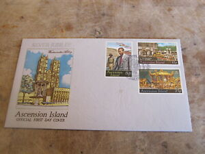 1977 First Day Cover / FDC - Ascension Island - Royal Silver Jubilee