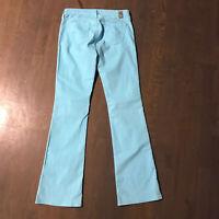 AG Adriano Goldschmied The Angel Stretch Denim Jeans Light Blue Woman's Size 27R